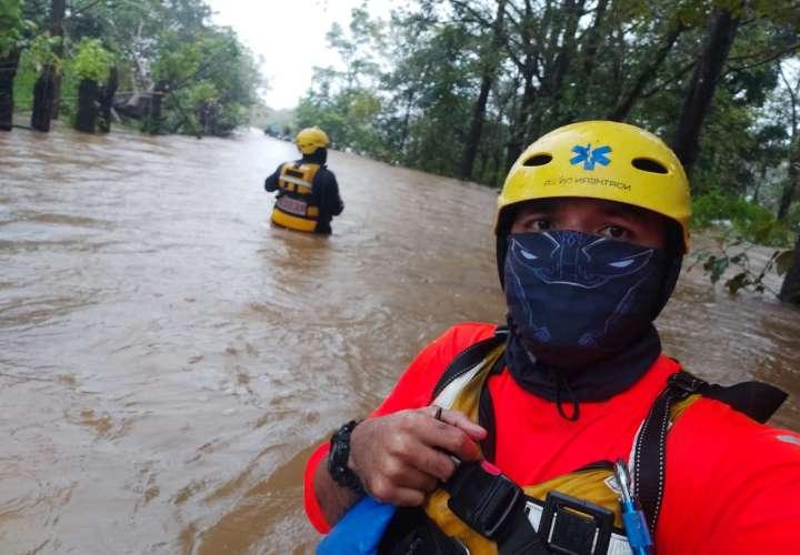 Más de 40 familias trasladadas a albergues debido a  inundaciones