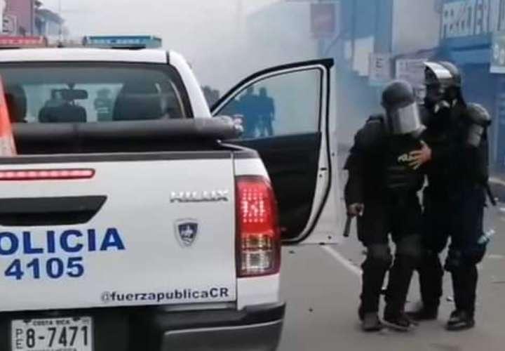 Lo condenan a 9 meses de prisión  por manifestarse en Paso Canoas