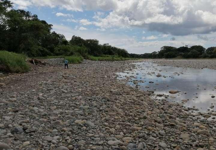 Bajos niveles del río Chiriquí impiden funcionamiento de potabilizadora