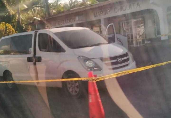 Retienen vehículo panel cargado de droga en Costa Arriba de Colón  [Video]