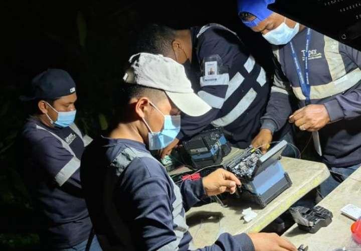 Miles afectados por cortes de fibra óptica en Panamá Norte y Este