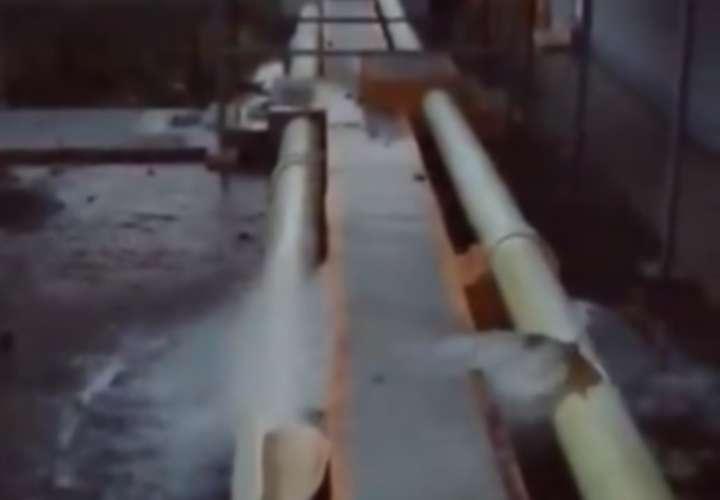 Indígenas vandalizan hidroeléctrica en Bocas