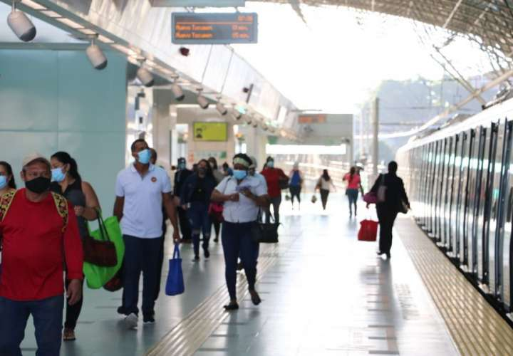 Sancionarán a usuarios del metro que incumplan con uso correcto de mascarillas