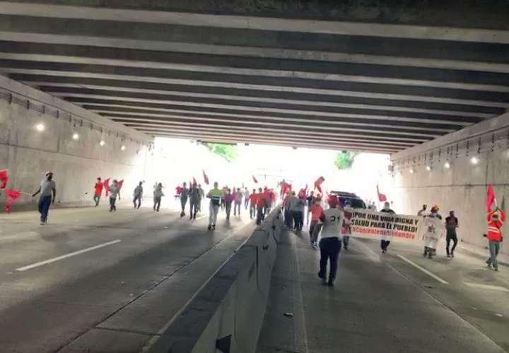 Suntracs sigue en las calles en defensa de los trabajadores y del pueblo [Video]