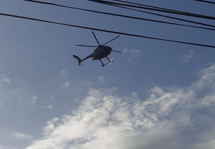 Operativos por aire y tierra en Colón