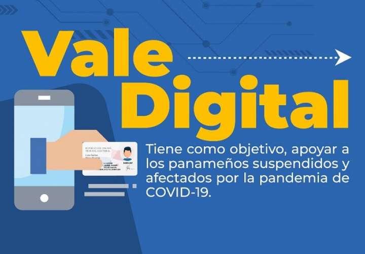 Nito anuncia transferencia del Vale Digital a partir de hoy