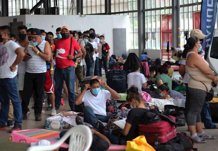 El número de migrantes aumenta en Panamá