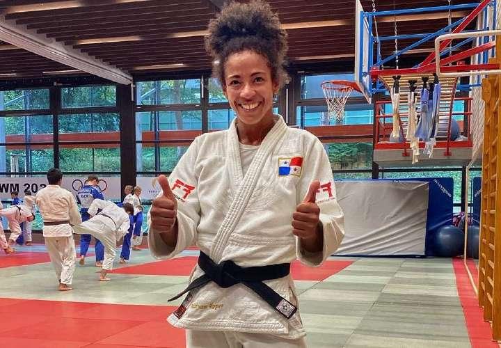 Panameña Miryam Roper, instalada en Catar para Masters de Judo