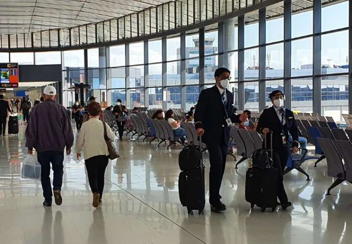 Caída de 70.1% registró el aeropuerto de Tocumen