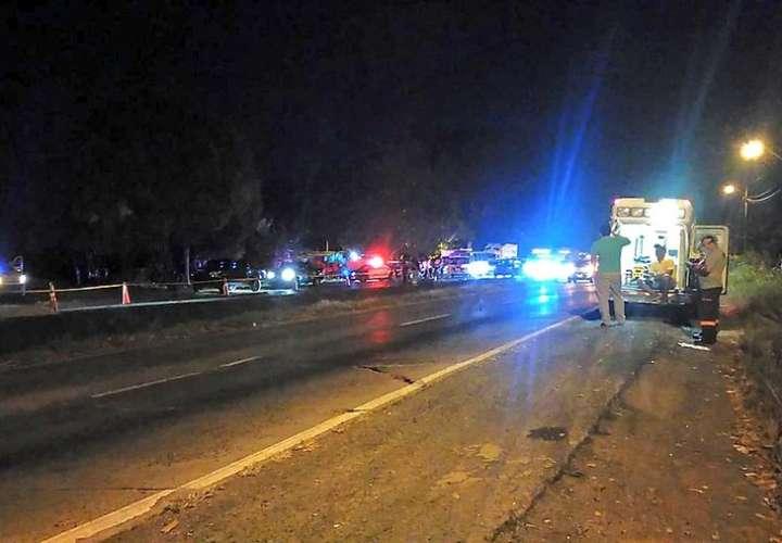 Camionero muere atropellado en Capira