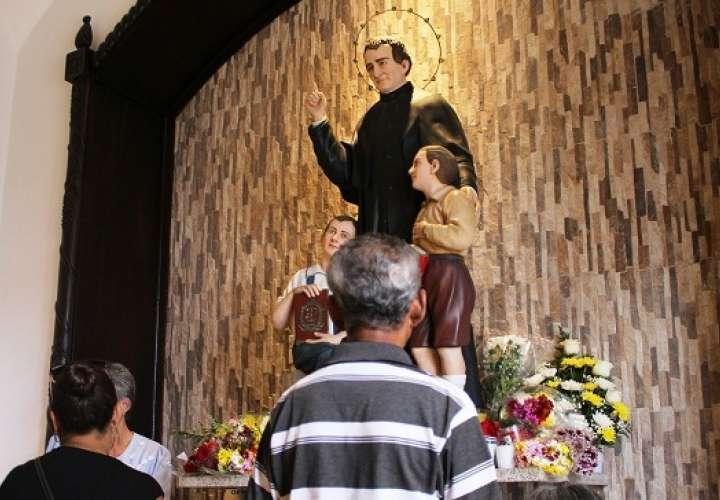 Festejo en honor a Don Bosco iniciará con el canto de las mañanitas