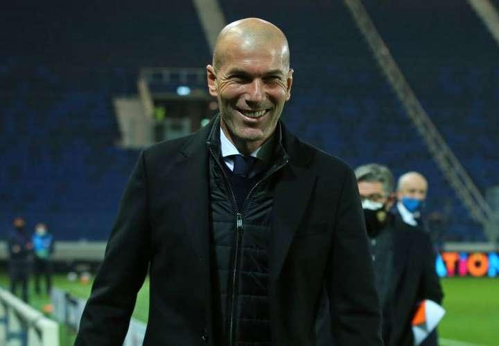 Zidane: feliz, a pesar del sufrimiento