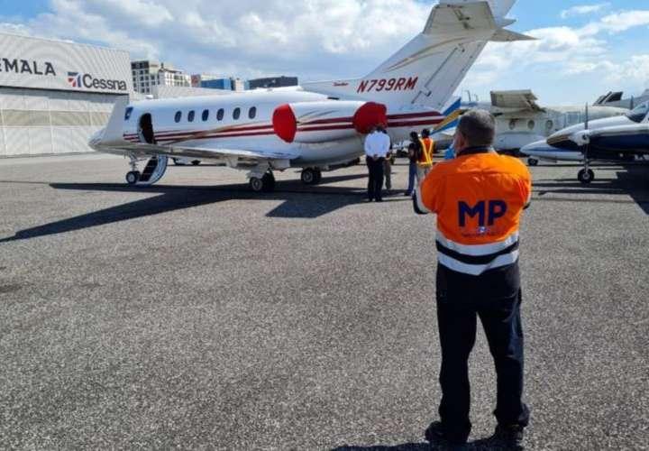 Arbitraria retención de avión de Martinelli