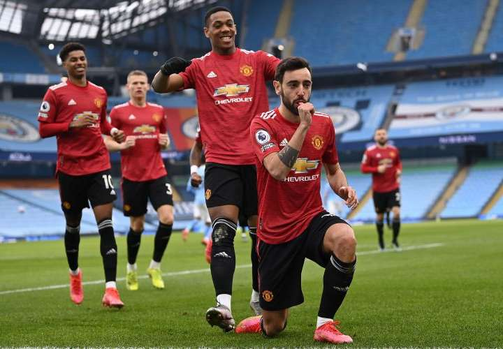 El United cercena la racha del City