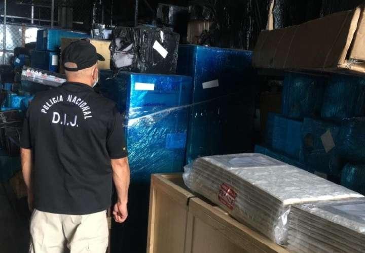 Recuperan mercancía valorada en $57 mil