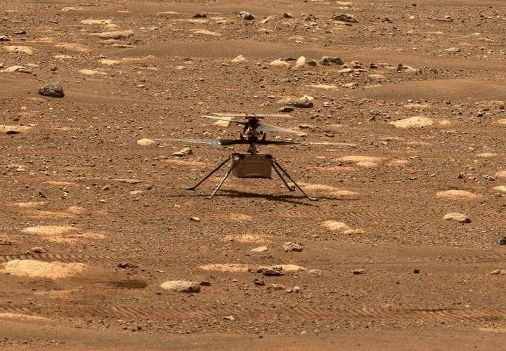 El helicóptero Ingenuity prueba que el cielo de Marte ya no es el límite