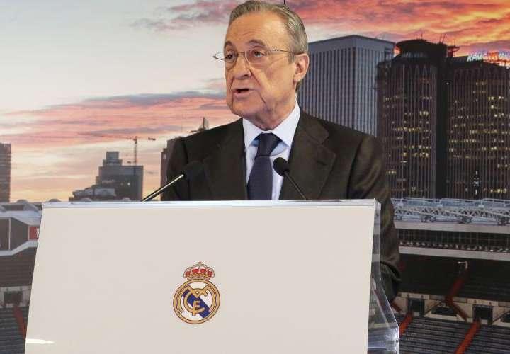 Florentino Pérez: 'Hacemos la Superliga Europea para salvar el fútbol'