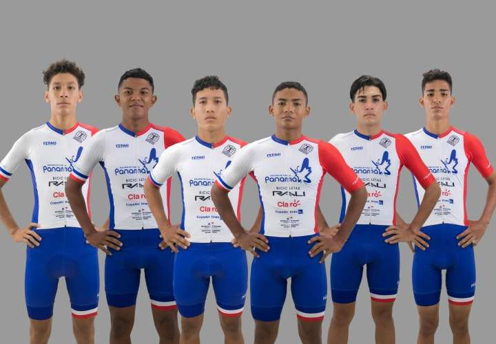 Selección Junior de Ciclismo de Panamá. Foto: FEPACI