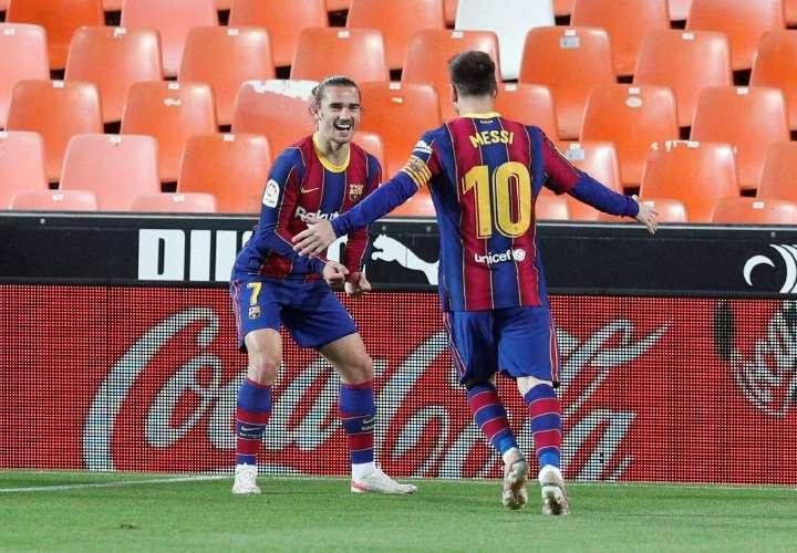Messi y el Barça insisten en LaLiga