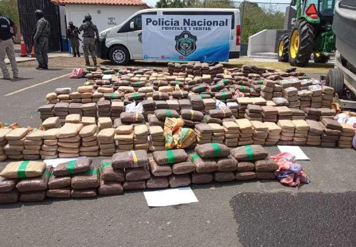Colombianos encerrados por Tráfico Internacional de Drogas