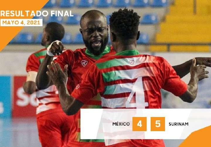 México cayó ante Surinam y hoy va contra Panamá