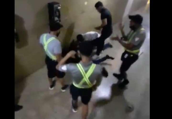 Intentaron robar en El Dorado y... se la sacaron (Videos)