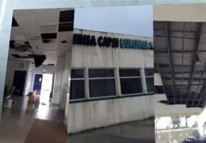 Minsa Capsi en Burunga opera en instalaciones deterioradas
