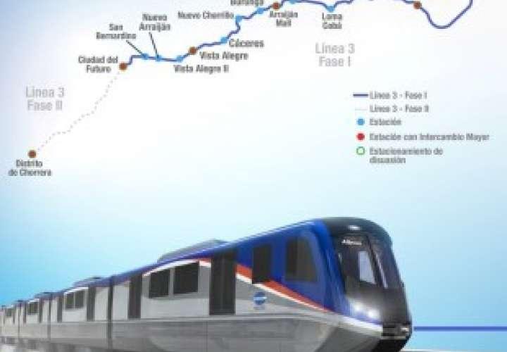 Solicitan que Línea 3 del Metro llegue hasta el centro de La Chorrera