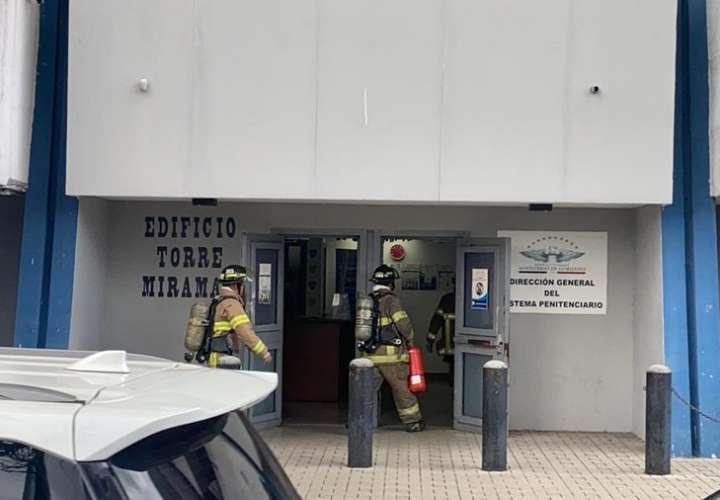 Conato de incendio en edificio donde opera Senniaf y otras instituciones