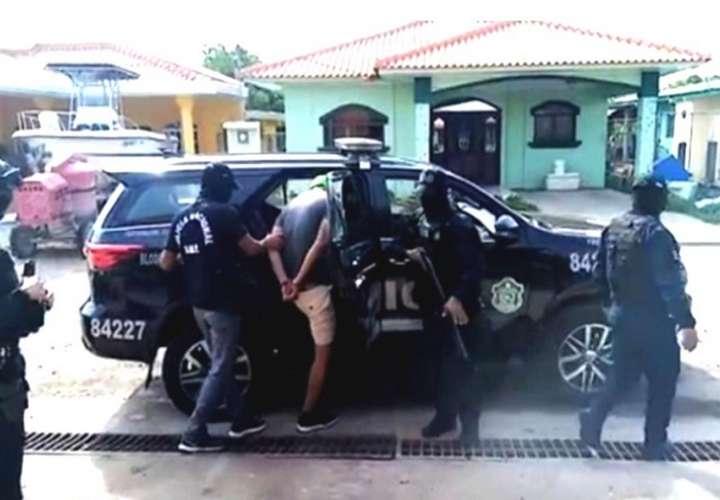 En la operación se logró recabar elementos de convicción relacionados con un hecho delictivo ocurrido la pasada semana en Chitré.