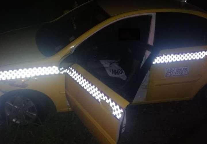 Matan a taxista en Pacora; el cuerpo quedó dentro del auto