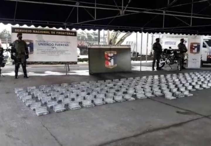 Huyeron y abandonaron 399 kilos de droga en Paso Canoas