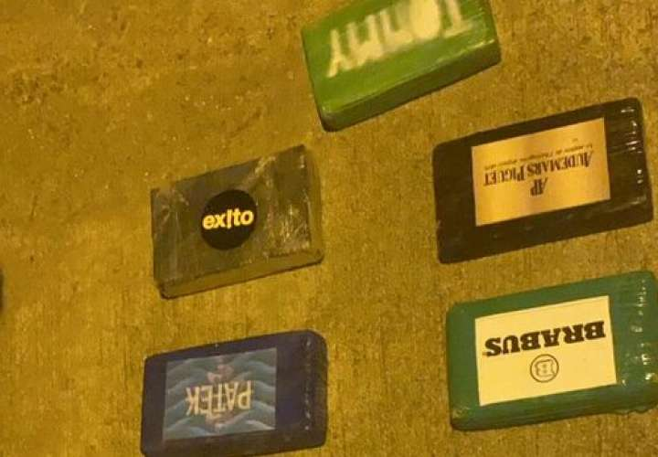 Más droga en Colón. Decomisan 525 paquetes en Isla Grande