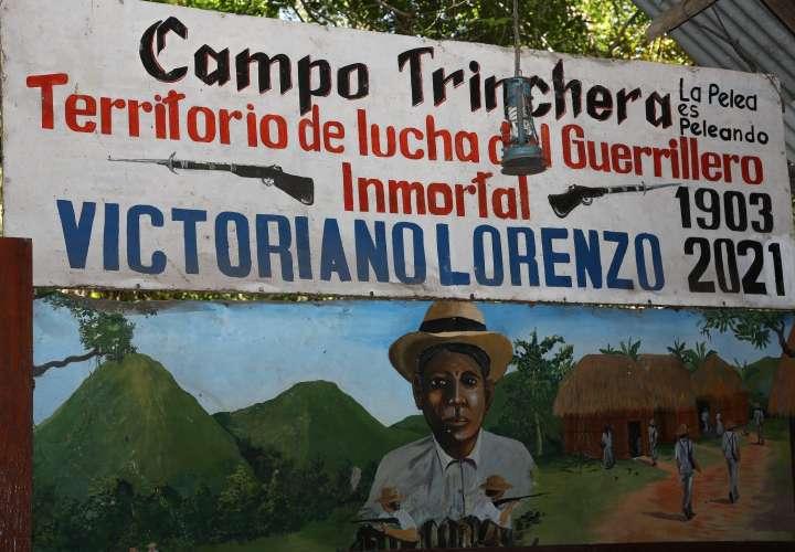 Campo Trinchera, territorio de lucha de Victoriano Lorenzo