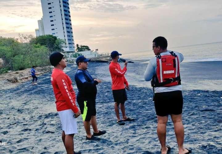 Sigue la búsqueda de hombre desaparecido en playa de Nueva Gorgona