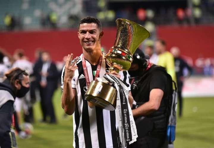 Cristiano, campeón de todo en España, Inglaterra e Italia