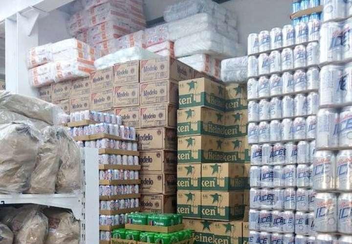 Decomisan viagras, cigarrillos y otras mercancías de contrabando en Colón