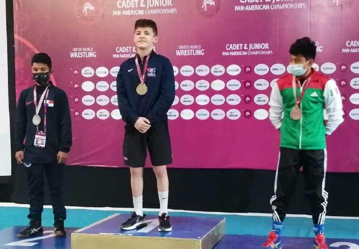 Panamá gana medalla de plata en Panamericano de Lucha
