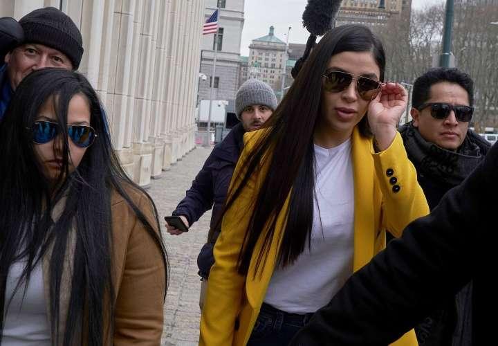 Esposa del Chapo Guzmán se declara culpable