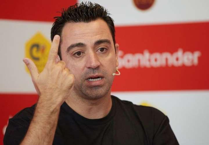 Xavi: no he hablado con Laporta