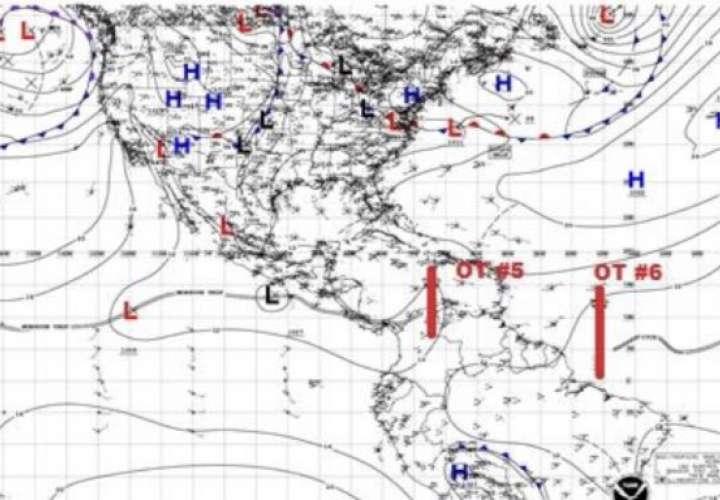 Sinaproc: Lluvias de moderadas a fuertes con ráfagas viento hasta el lunes