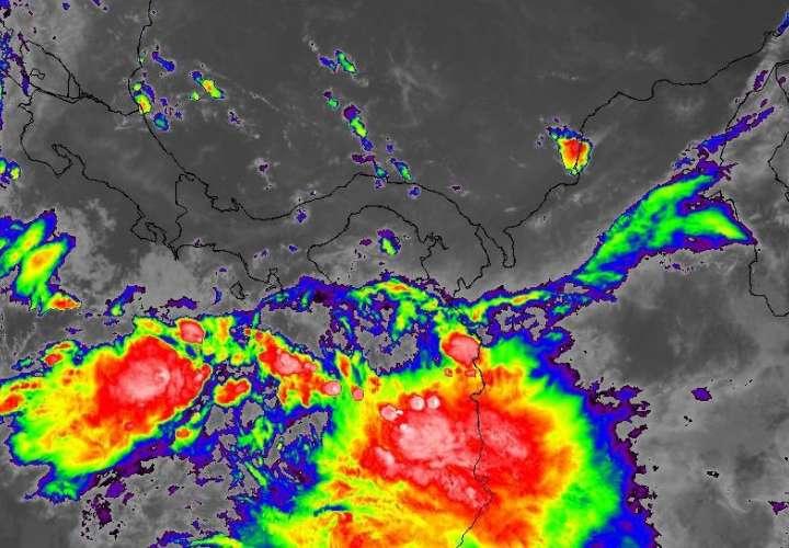 Se esperan lluvias de moderadas a fuertes con ráfagas viento a nivel nacional.