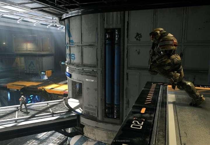 """Fotograma del juego """"Halo Infinite"""", uno de los videojuegos que presentó Xbox en la E3. EFE"""