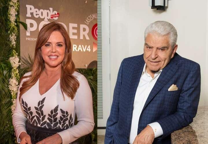 María Celeste y Don Francisco vuelven otra vez a la televisión