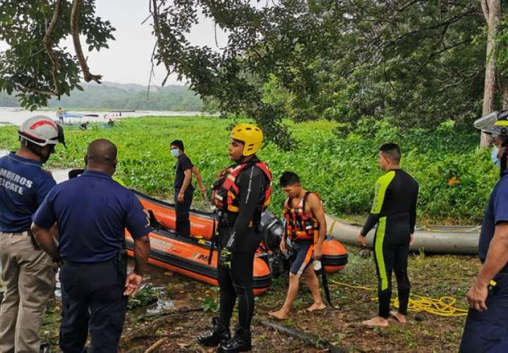 Hallan cuerpo de joven cayó a agua tras ser impactado por rayo en Gamboa
