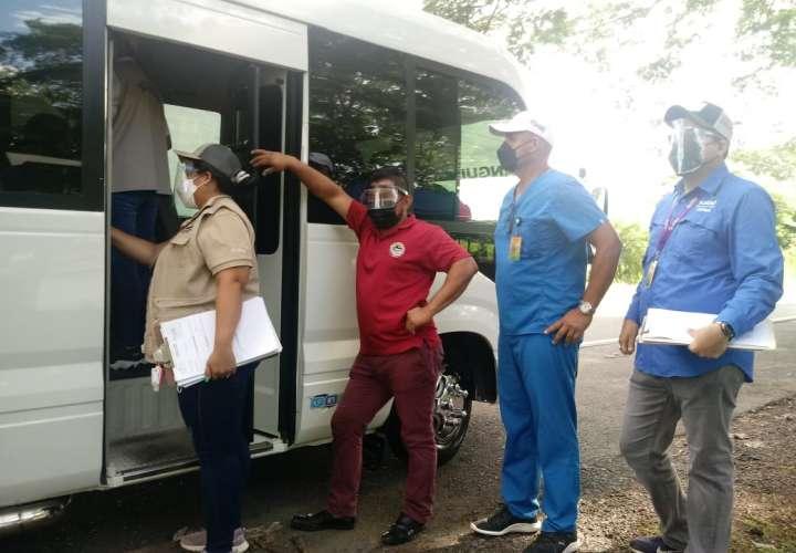 Sancionan a transportistas en Chiriquí por incumplir medidas de bioseguridad