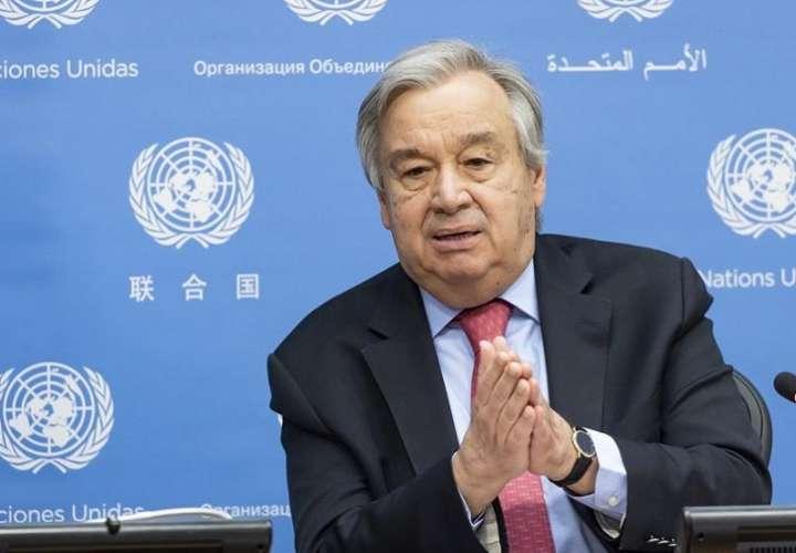 António Guterres, ecretario general de la Organización de Naciones Unidas (ONU). EFE
