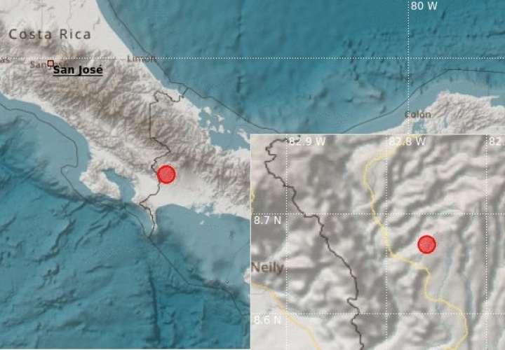 Chiricanos pasan gran susto por sismo