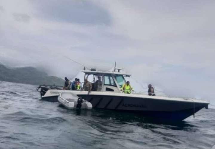 Senan: Rescatan a cuatro náufragos y buscan a dos desaparecidos en Punta Mala