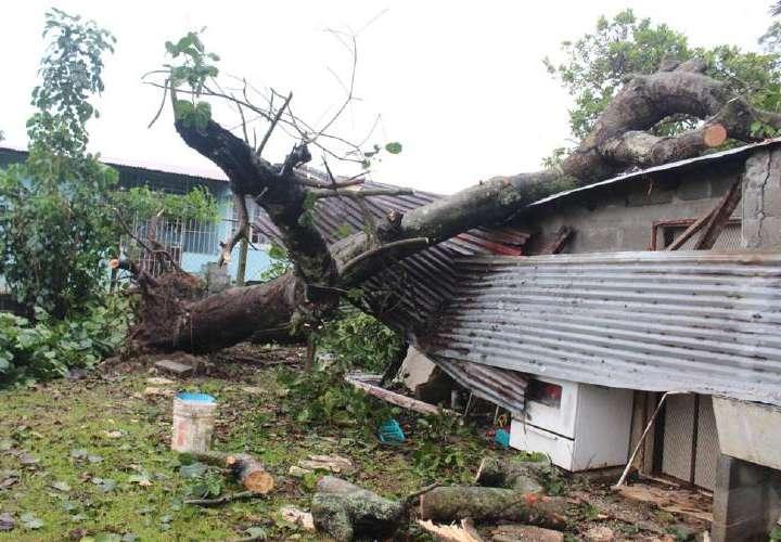 Lluvias causan daños en Panamá, Oeste, Colón, Chiriquí y Bocas
